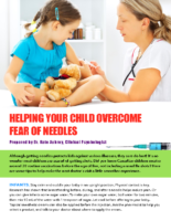 Helping Kids With Needle Pain