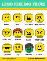 Lego Feeling Faces